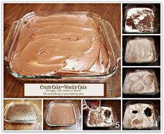 How to DIY Crazy Chocolate Cake Without Eggs, Milk or Butter