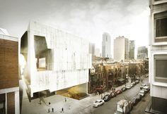 Gallery of Montreal Museum of Fine Arts Pavilion 5 Finalist Proposal / Saucier + Perrotte Architectes - 3