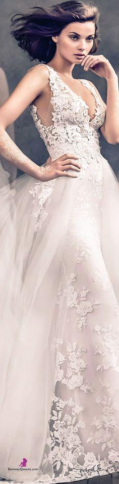 Lazaro, Fashion 2017, Bridal, white