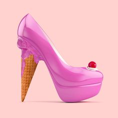 Que delicioso zapato