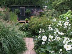 Bloeiende planten en siergrassen