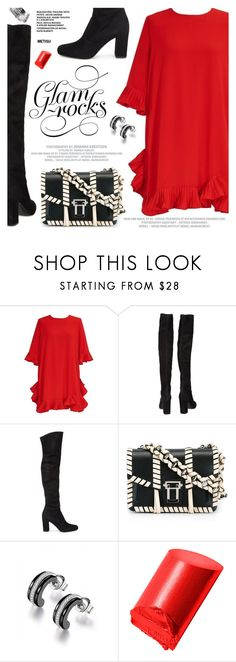 """""""Glam Rocks"""" by metisu-fashion ❤ liked on Polyvore featuring Yves Saint Laurent, Proenza Schouler, Bobbi Brown Cosmetics, polyvoreeditorial and polyvoreset"""