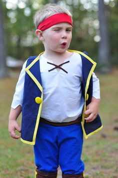 Lu Bird Baby Jake from Jake and the Neverland Pirates Costume Tutorial | Pirate Party | Pinterest | Costume tutorial Costumes and Birthdays  sc 1 st  Pinterest & Lu Bird Baby: Jake from Jake and the Neverland Pirates Costume ...