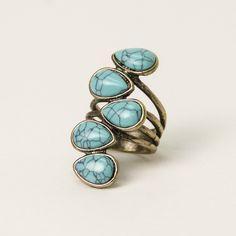 Cleo Marble Ring - Nectar Clothing