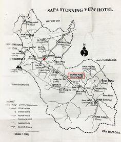 map de Sa Pa