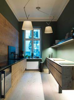 Dinesen Showroom Copenhagen by OeO | Yellowtrace.