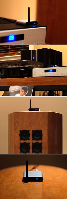 Imagine one day being able to play back lossless FLAC files from your smart-device on your fancy analog hi-fi sound system! With the Mezger by Advanced, that day is today. It actually uses Bluetooth (upto 100ft) to receive audio data, reproduces it to its highest quality using a Digital-to-Analog converter, and directs it via RCA cables to your left and right speakers.