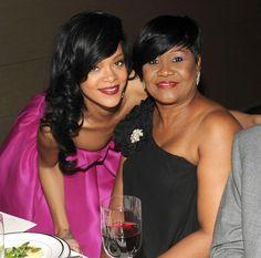 Rihanna and her mom