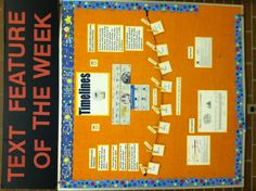 Text Feature of the Week Interactive Bulletin Board (picture only)