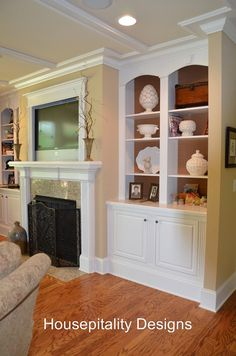Another idea for back wall, framed in TV over fireplace