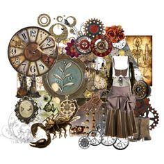 Steampunk Style. @Laura Weed