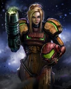 Samus Is Not A Toy by SirTiefling