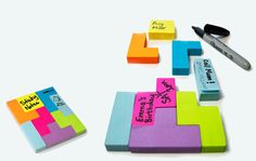 Tetris inspired Sticky Notes