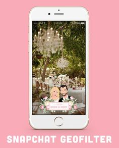 5 wedding snapchat geofilters | Kayla's Five Things | wedding geofilters | customized geofilter