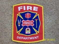 Frisco (TX) Fire Department Patch