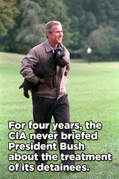 The report also tells us that Bush requested not to be informed so yes, he's culpable.