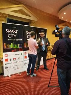 Eduard Dumitrascu, Presedinte Asociatia Romana pentru Smart City si Mobilitate la Caravana Smart City