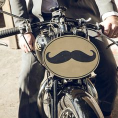 Follow the path of the moustache. #ridedapper #gentlemansride #jointhegentry #dgr2014 #rudge #classic #motorcycle