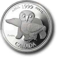 Canadian Coin Collection: April - 1999 Millenium Collection