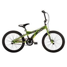 Youth Huffy Spectre 20-Inch BMX Bike, Green