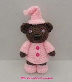 Sleepy Amigurumi Bear