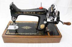 99K Singer Hand Crank Sewing Machine