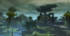 Wychmire Swamp in Caledon Forest on my mesmer Kaaelore. #GuildWars2