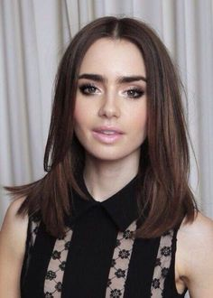 Lily Collins - Smokey Eye (EBR)