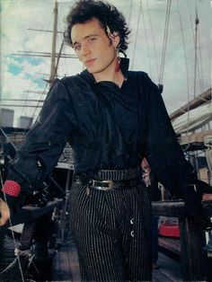 Adam Ant- dashing as always..