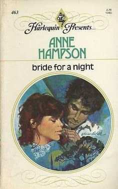 Bride for a Night - Anne Hampson Harlequin Romance Novels, Vintage Book Covers, Library Ideas, Books To Buy, Romance Books, Fiction, Presents, Pdf, Bride