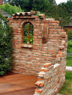 Backyard Patio Designs, Backyard Landscaping, Rustic Gardens, Outdoor Gardens, Landscape Design, Garden Design, Diy Garden Furniture, Garden Deco, Garden Structures