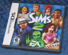 The Sims 2 (Nintendo DS, for sale online Nintendo Dsi Games, Sims 2, Videogames, Ale, Gaming, Baseball Cards, Electronics, Ebay, Games