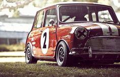 Mini by LienhardRacing 11  Classic Mini, Mini Cooper Classic, Classic Cars, Mini Morris, Fiat 600, Mini Cooper S, Fancy Cars, Cool Cars, Vintage Racing