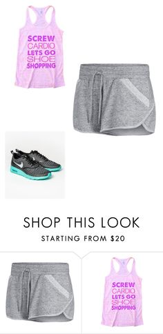 """gym outfit!!"" by bae03 on Polyvore featuring Lorna Jane and NIKE"
