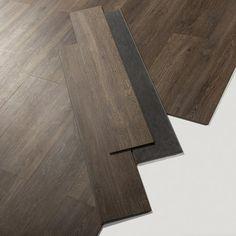 Lame PVC clipsable marron cleveland dark Senso lock + GERFLOR/me,