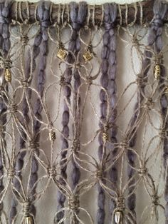Point Reyes Driftwood Macrame Wall Hanging by JillGlidden on Etsy  #macrame #wallhangings #homedecor #boho #bohochic #natural #driftwood #handmade