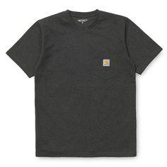 Carhartt WIP Pocket T-Shirt - Black Heather