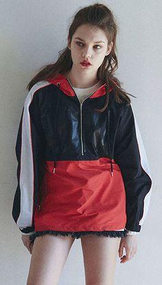 매드마르스의 2017 시즌 컬렉션, 과감한 컬러배치 스포티한 아노락자켓