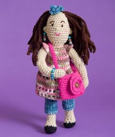 2000 Free Amigurumi Patterns: Free Fashionista Farrah Doll Amigurumi Crochet Pattern