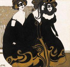 by Josef Maria Auchentaller - 1901