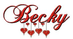 Becky Graphics and Animated Becky GIFs. Free Becky pictures and photos. I Love My Daughter, My Beautiful Daughter, Name Games, People Names, I Miss Her, My Heart Is Breaking, Becca, Thats Not My, Finding Yourself