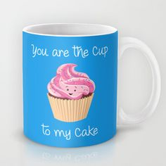 A sweet Valentine's message! :)  cupcake, love, lovers, valentines, valentine