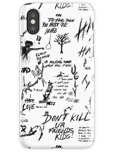 XXXTENTACION TAGS iPhone X Snap Case Screen Wallpaper, Iphone Wallpaper, I Love You Forever, Art Boards, Bae, Prince, Iphone Cases, Greeting Cards, Framed Prints