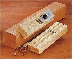 Japanese Round Molding Plane - Woodworking