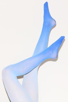 Ombré Tights   Dip Dye Leggings   Thrifted & Modern
