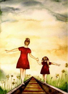 """Картины """"Мать и дитя"""""""