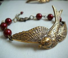 Swooping Sparrow Bracelet Customize your