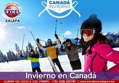 Vive las mejores experiencias invernales en CANADÁ. Contamos con salidas en enero, febrero, marzo y abril. Ademas te apoyamos con el tramite de tu visa canadiense!!
