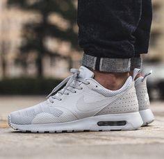 New! Dec 2015. Nike Air Max Tavas 'Pure Platinum/Neutral Grey.'