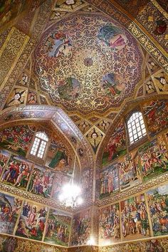 Vank Church in Isfahan, Iran